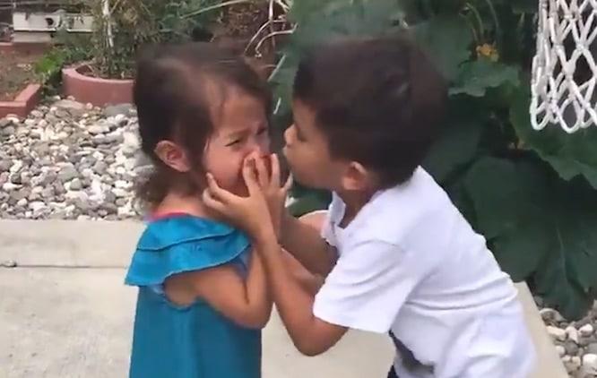 Frere et soeur are