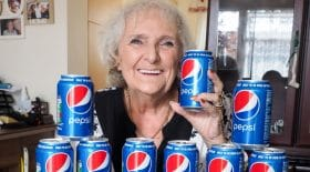 grand-mère addict pepsi drogue