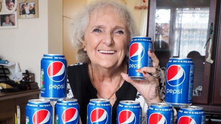 grand-mère addict pepsi drogue