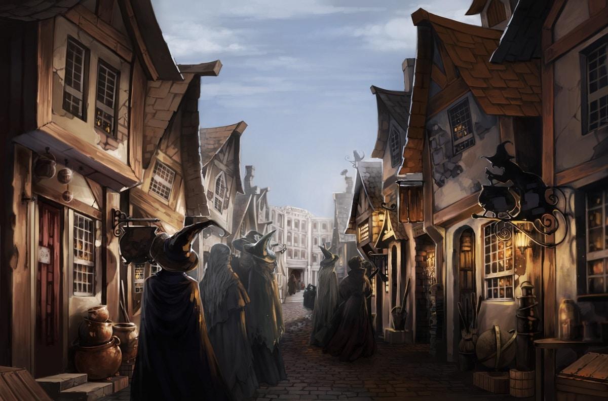 Un magasin ph m re harry potter ouvre ses portes paris - Harry potter 8 et les portes du temps ...