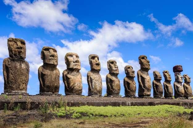 mystère de la science : statues moaï