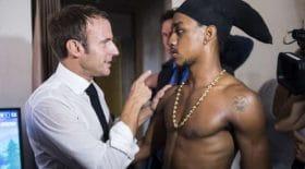 Macron et l'ex-braqueur