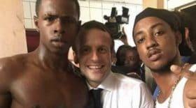 Emmanuel Macron photo polémique