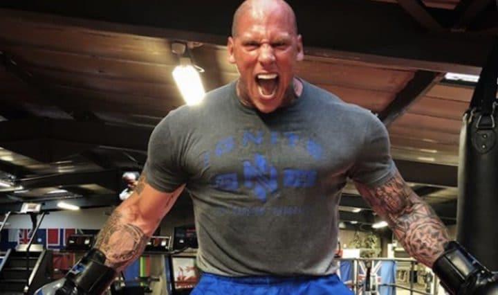 L'homme le plus effrayant du monde en MMA