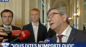 melenchon journaliste accent