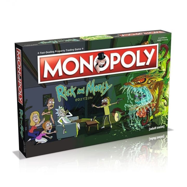 monopoly rick morty