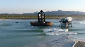 piscine vagues géante