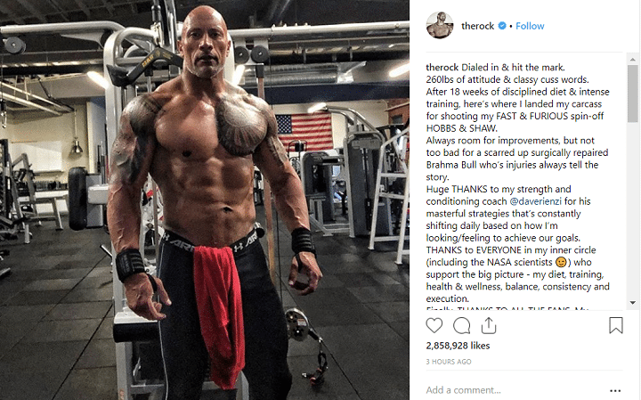 the-rock-dwayne-johnson-fast-and-furious-entrainement-diète-film