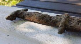 La découverte insolite d'une épée vieille de 1 500 ans !