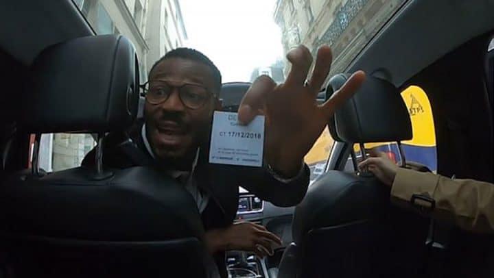 chauffeur de taxi parisien arnaque