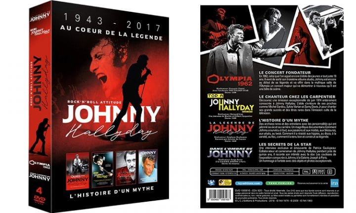 coffret dvd johnny