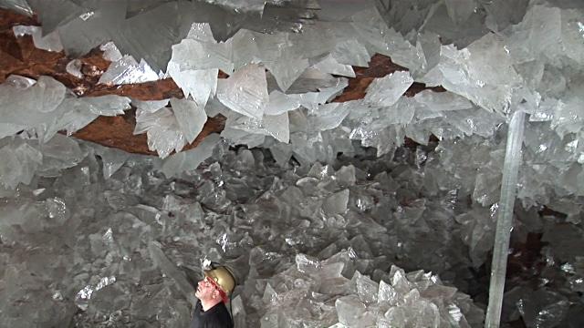grotte de cristaux, mexique