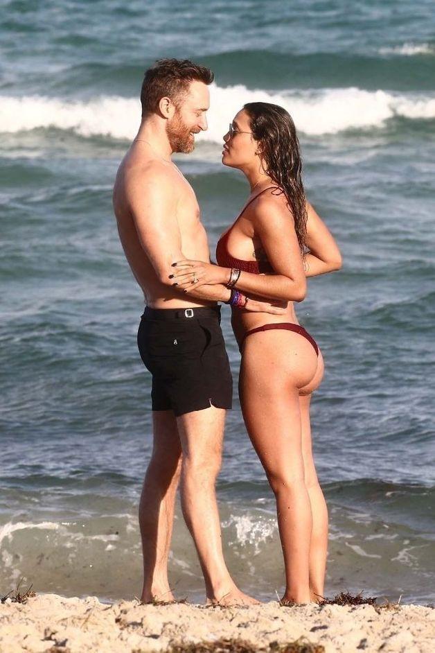 David Guetta et Jessica Ledon fiancés à Miami ?
