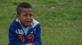 Enfant en pleurs