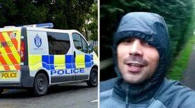 fugitif nargue la police