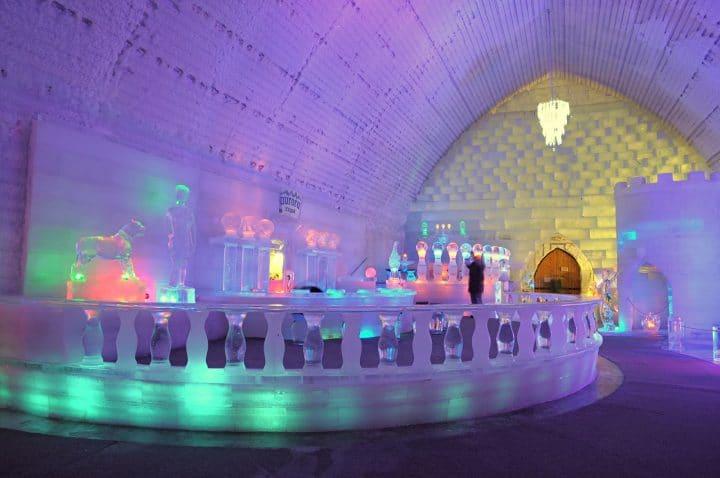 hotel glace québec