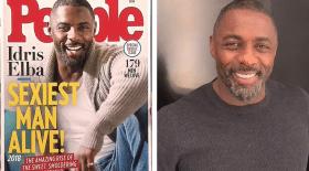 Idris Elba élu homme le plus sexy