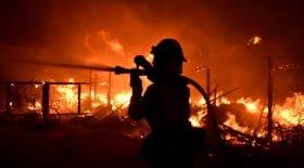 feu maison pompier