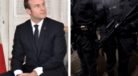 Macron visé par un projet d'attaque