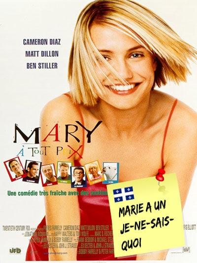 Pochette de film Mary à tout prix