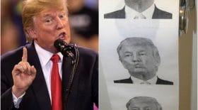 papier toilette Donald Trump