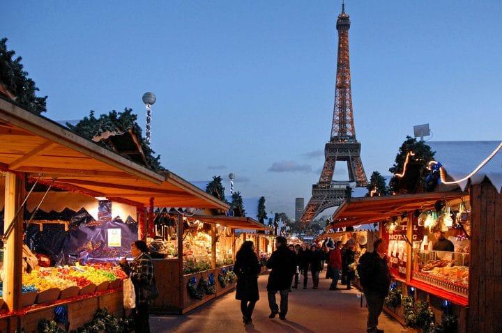 Paris marché Noël