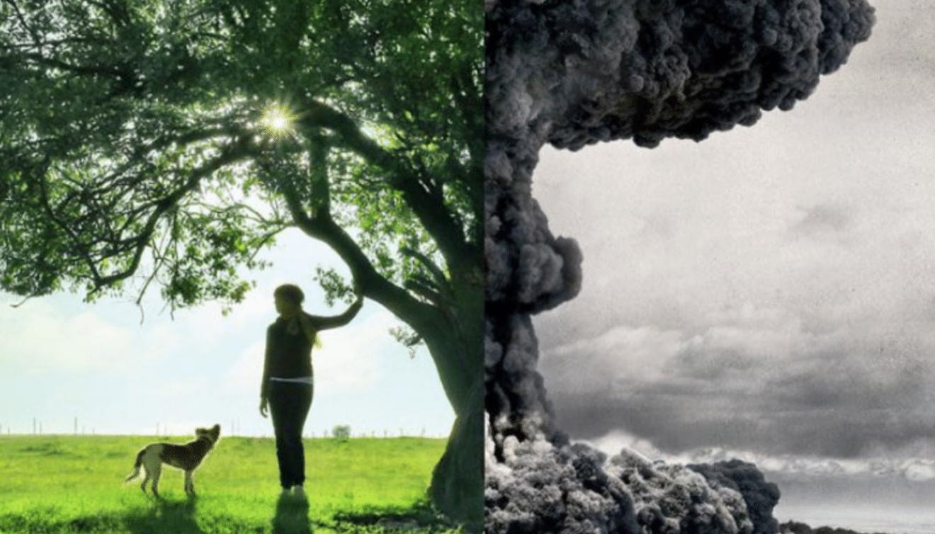 Un artiste montre la réalité de notre monde en fusionnant deux photos… bouleversant !