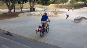secousses siège vélo enfant
