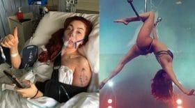 secrets de beauté stripteaseuse blessée