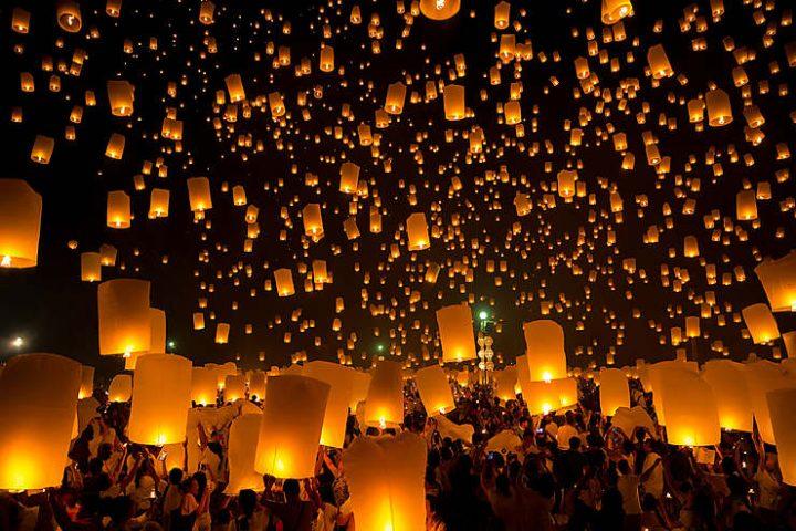 Thaïlande lanternes