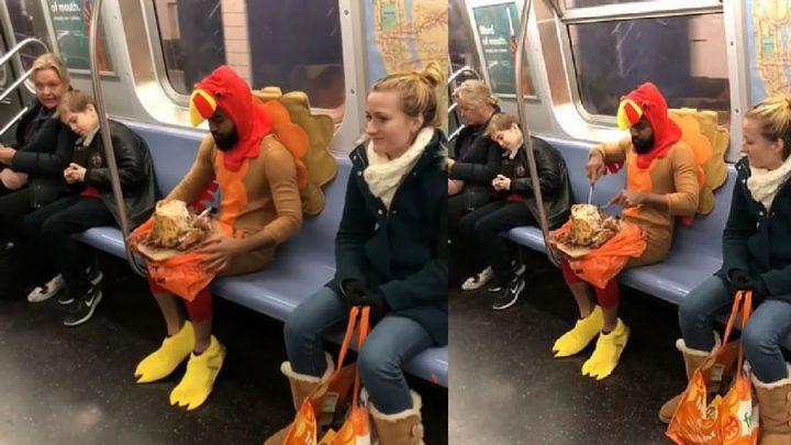 déguisement de dinde thanksgiving