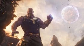 Thanos dans infinity war