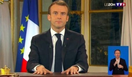 L'allocution de Macron établit un record d'audience