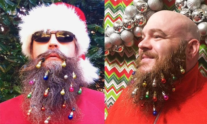 boules noel barbe