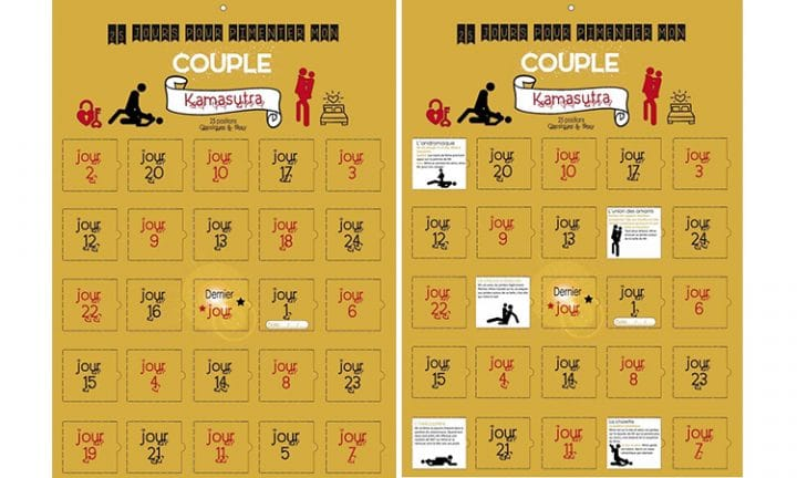 calendrier kamasutra