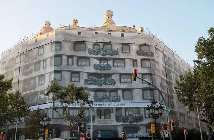 Casa Mila Gaudi réalité