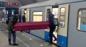 cercueil métro russe