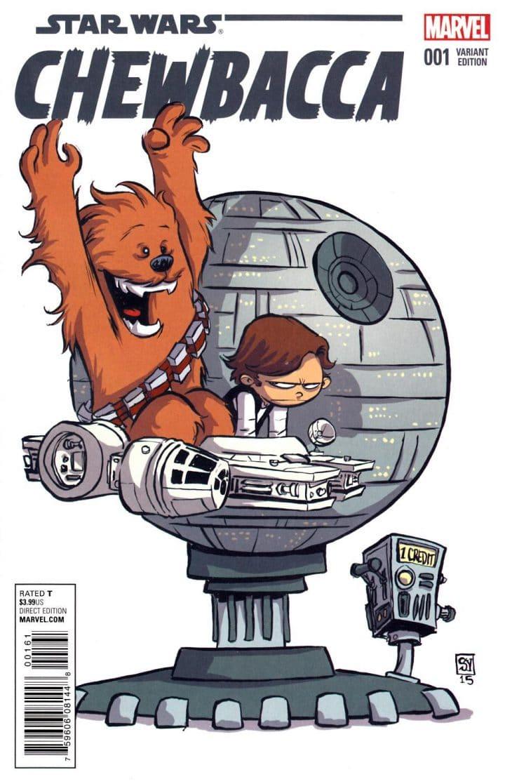 Chewie et Han Solo