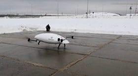 Un drone se crashe en Russie