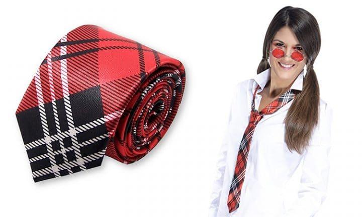 cravate ecoliere