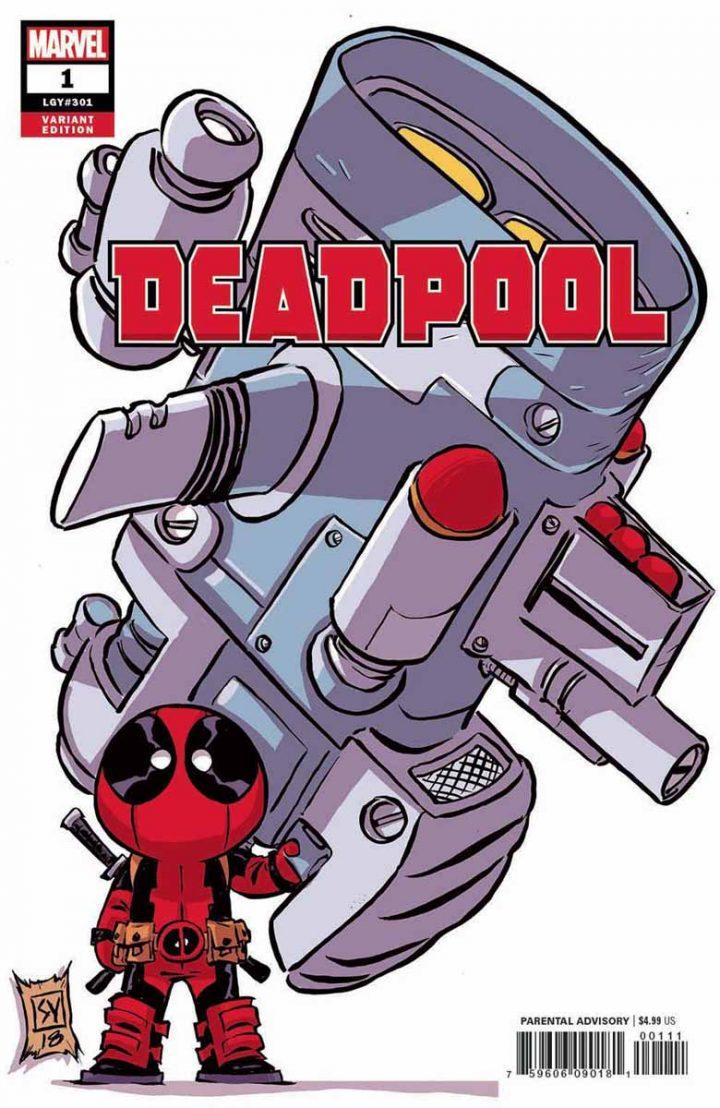 Deadpool et gros gun