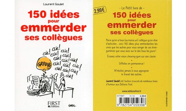 150 idees pour emmerder le monde