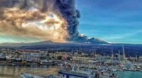 L'Etna s'est réveillé