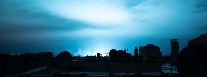 Image New York ciel bleu