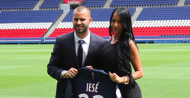 Jesé et sa femme