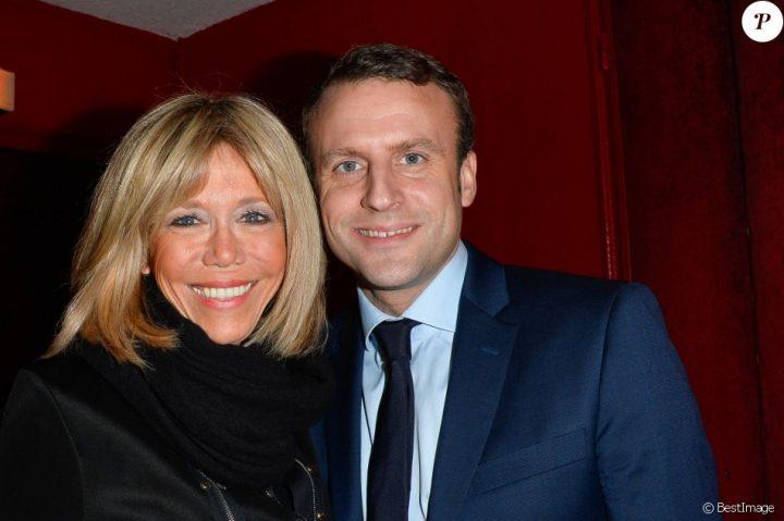 Macron et Brigitte