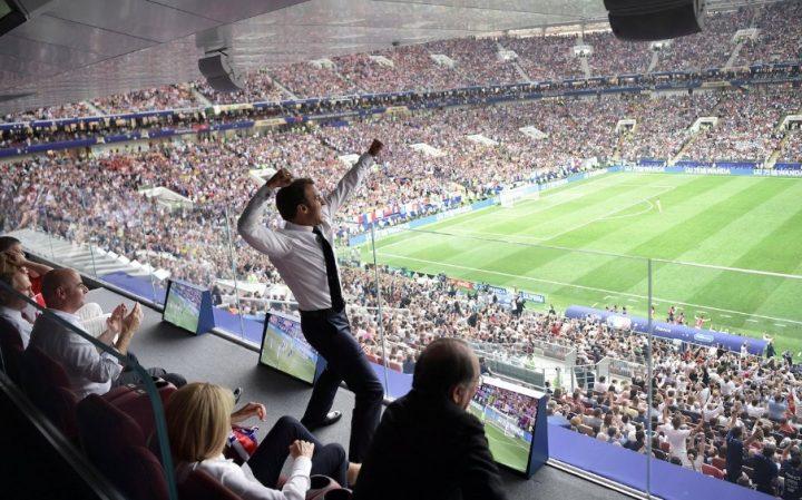 Macron égale le score de la finale