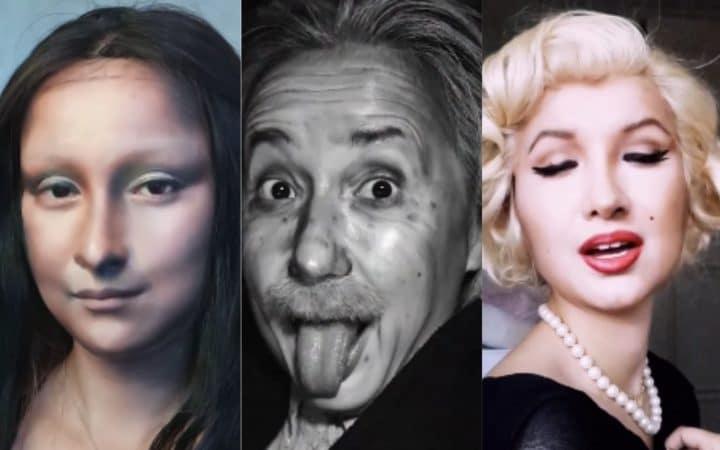 Make Up imitation