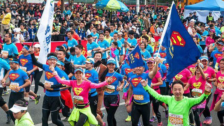 marathon reconnaissance faciale