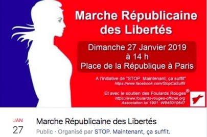 Une marche de soutien à Macron